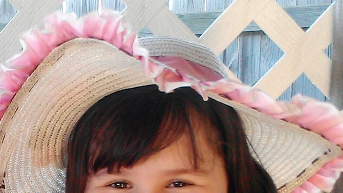This undated handout photo provided by Brandie Candelaria shows Antonia Candelaria. Candelaria was killed when a tornado struck Plaza Towers Elementary School in Moore, Texas on Monday, May 20, 2013. (AP Photo/Courtesy of Brandie Candelaria)