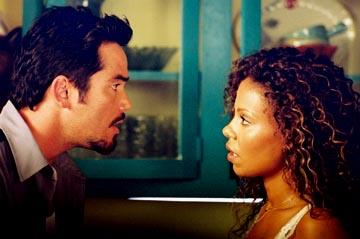 Dean Cain and Sanaa Lathan in MGM's Out Of Time