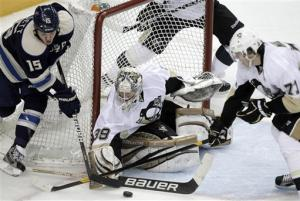 Penguins dump Blue Jackets 4-2