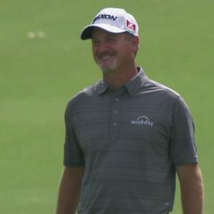 Jerry Kelly sticks an amazing approach for Shot of the Day