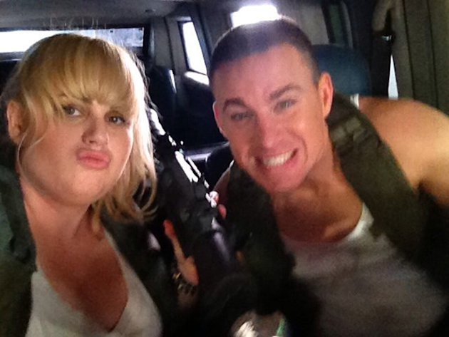 Rebel Wilson and Channing …