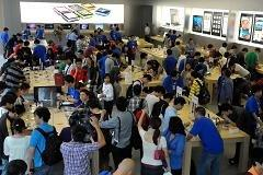 iPhone market share quadruples in China