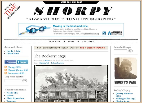 Shorpy website