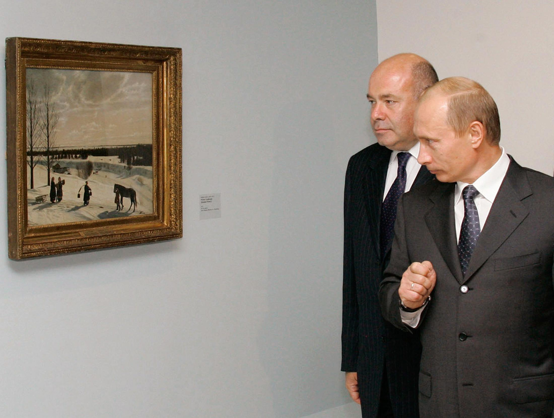 A private art collection of mysterious origins is possibly worth $2 billion — and will eventually go to Vladimir Putin