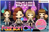"2NE1 featured in ""Fashion City"" game app"