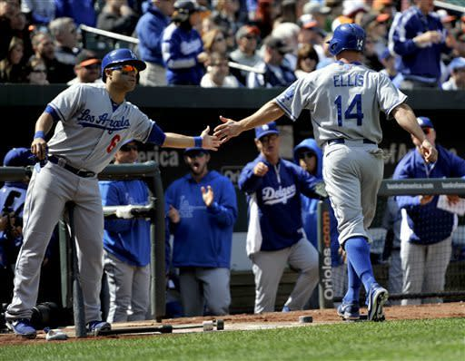 Dodgers beat Orioles 7-4 to end 6-game skid