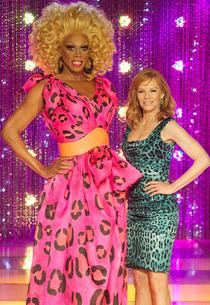 RuPaul and Marg Helgenberger | Photo Credits: Logo