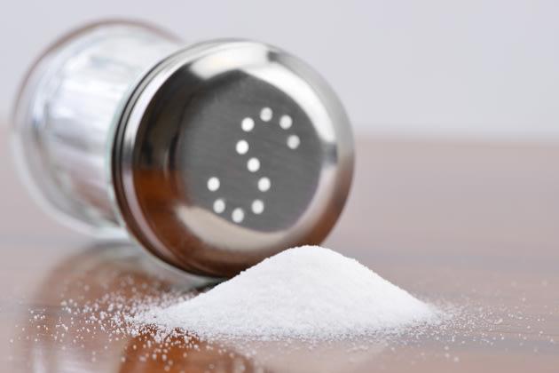 A menos sal, mejor salud
