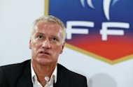 Newly-named coach of the French national football team Didier Deschamps gives a press conference at the FFF headquarters in Paris. Deschamps warned players that they risked not being picked if they fell short of standards of behaviour when representing the national side