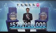 Powerball Lottery: Two Tickets Share &#92;$580m