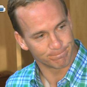Denver Broncos quarterback Peyton Manning comments on taunting penalty