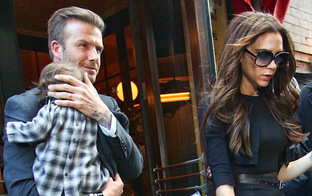 David Beckham en a marre que Victoria gte autant leur fille