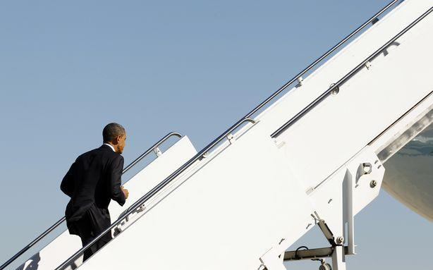 Obama Will Travel 5,300 Miles Today