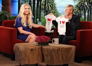 Jessica Simpson's Onesie from Ellen