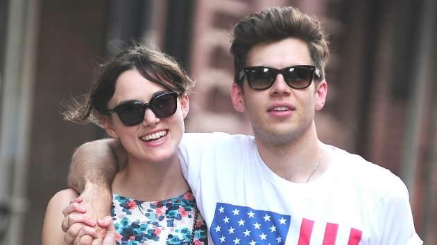 Keira Knightley, James Righton -- Getty Images