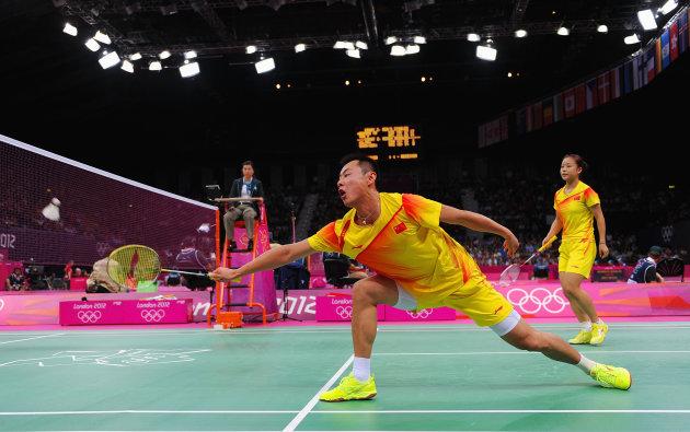 تیم چن زو جین ما از چین برابر تیم لیو یینگ و پنگ سون از مالزی