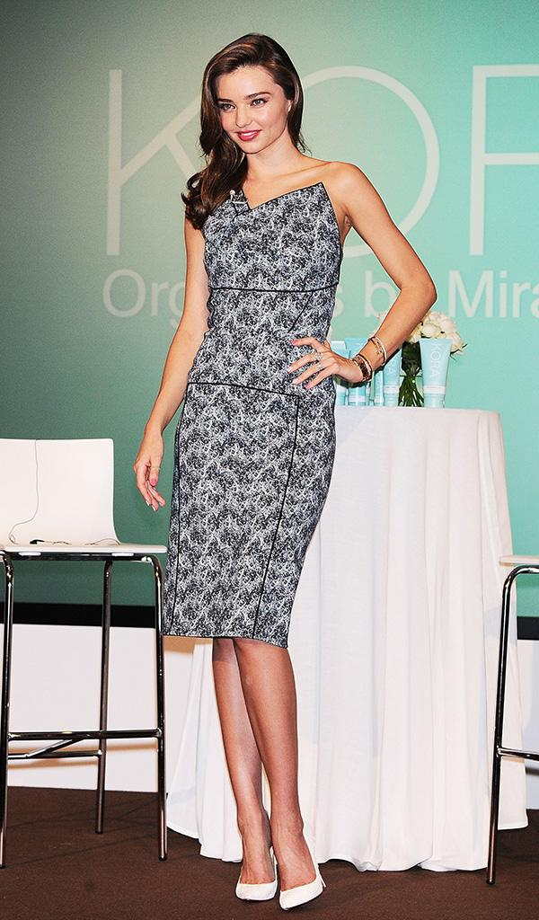 'KORA Organics by Miranda Kerr' Press Conference