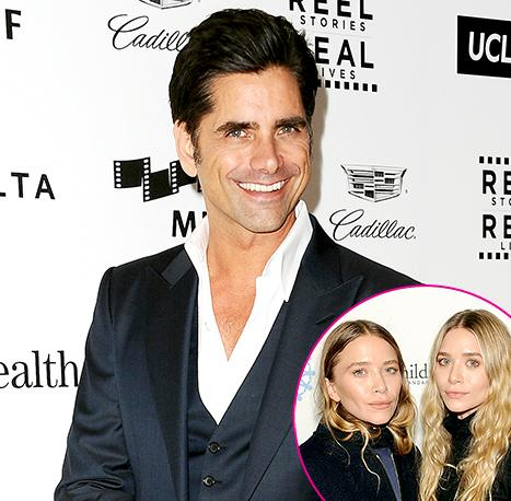 """John Stamos Calls """"Bulls---"""" that Mary-Kate, Ashley Olsen Didn't Know About Full House Reboot"""