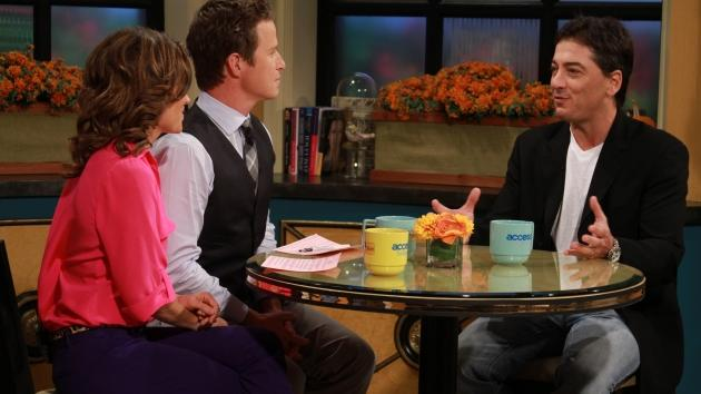 Kit Hoover and BIlly Bush chat with Scott Baio on Access Hollywood Live on October 12, 2012 -- Access Hollywood