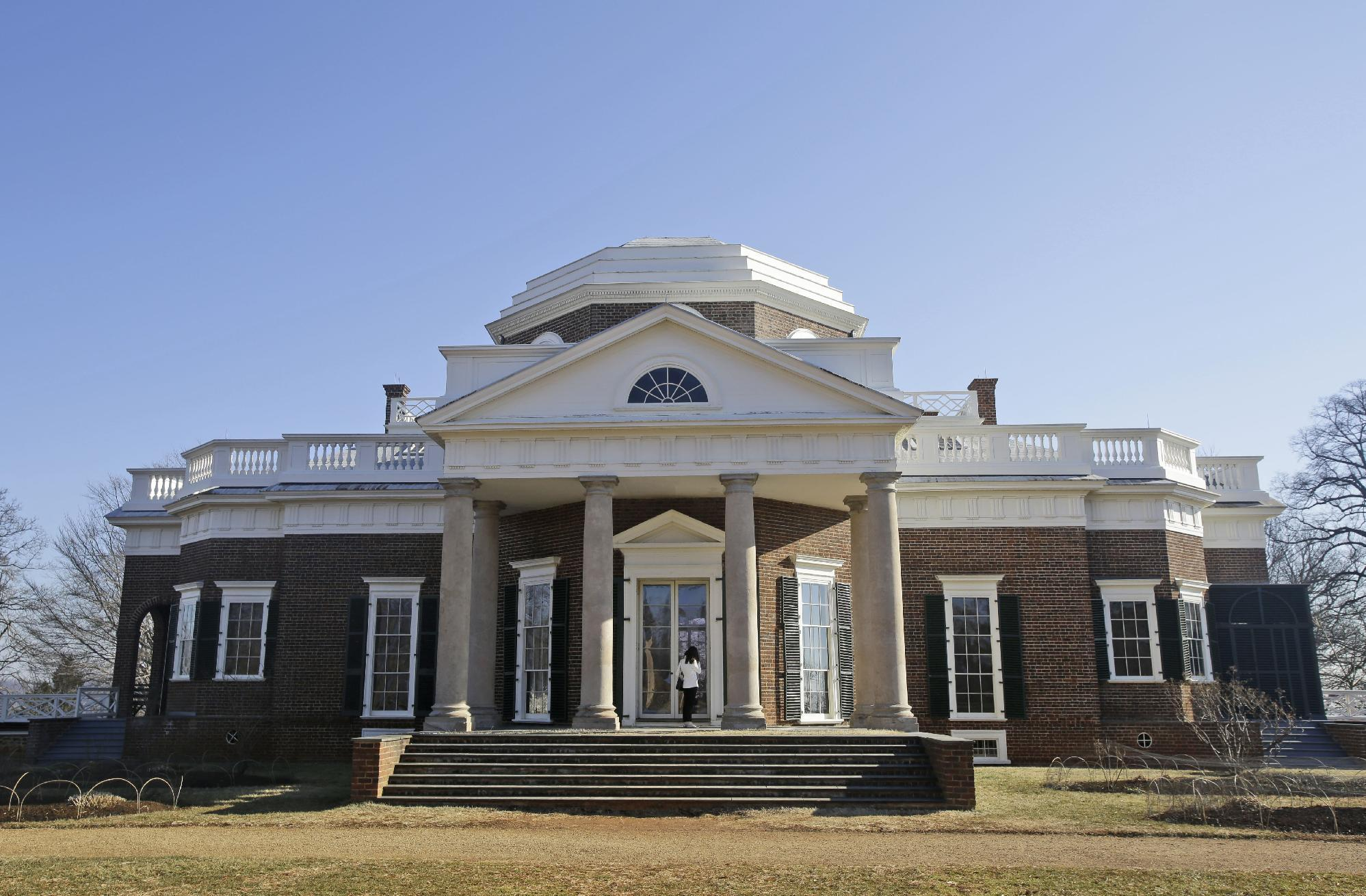 Rebuilt slave sites being unveiled at Jefferson's Monticello