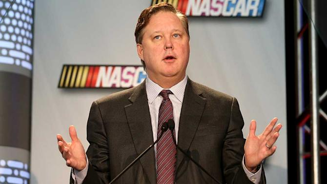Open letter to NASCAR fans from Brian France