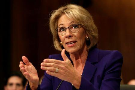 Democrats blast Trump's pick for Education Secretary
