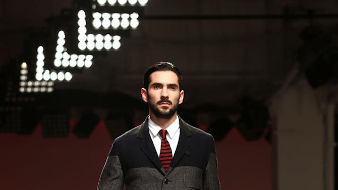 Oliver Spencer: Catwalk - London Collections: MEN AW13