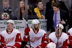NHL: Stanley Cup Playoffs-Detroit Red Wings at Boston Bruins