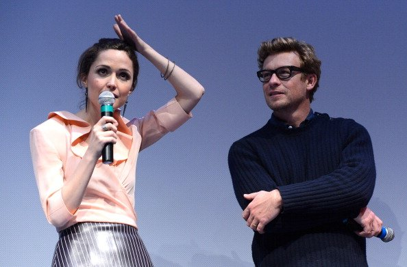 Rose Byrne and Simon Baker