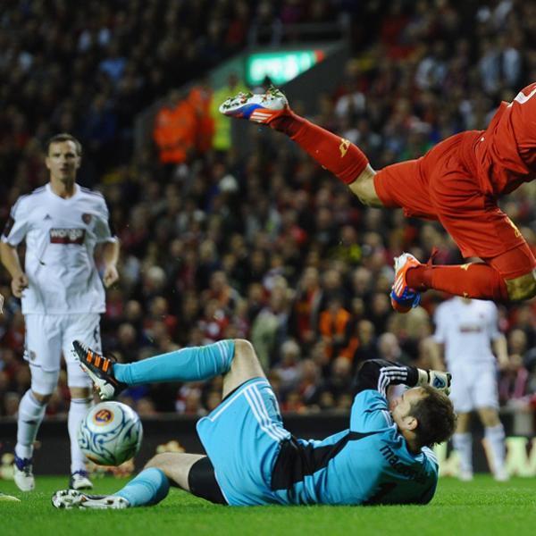 Liverpool v Hearts - UEFA Europa League Play-off Round Getty Images Getty Images Getty Images Getty Images Getty Images Getty Images Getty Images Getty Images Getty Images Getty Images Getty Images Ge