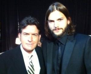 Charlie Sheen: Ashton Kutcher Sucks