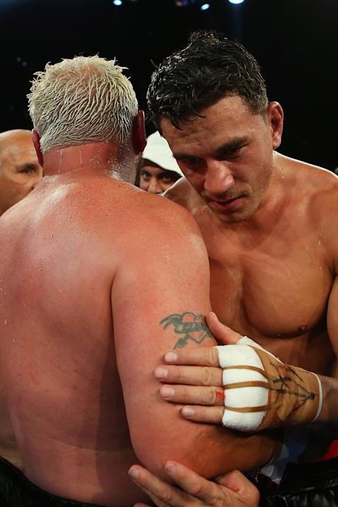 Sonny Bill Williams v Francois Botha