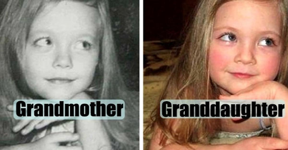 23 Photos Of Parents & Their Kids At The Same Age