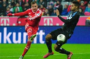 Gotze: Bayern got nervous against Hamburg