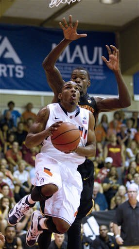 Illinois routs USC 94-64 at Maui Invitational