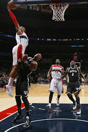 Beal scores 29, Wizards top Nets 112-108 in OT