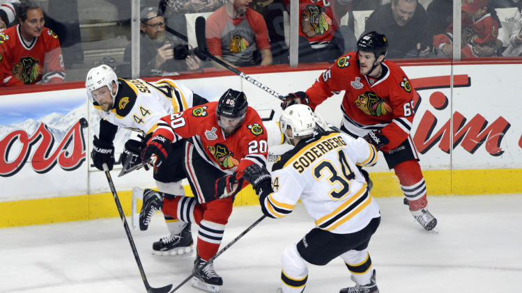 NHL: Stanley Cup Final-Boston Bruins at Chicago Blackhawks