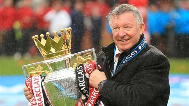 Fergie: There he goes, there he goes, there he goes...