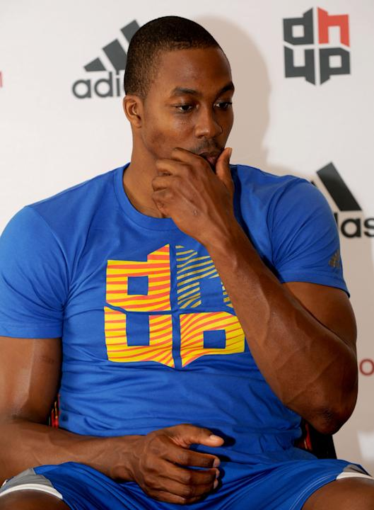Player Dwight Howard Visits China