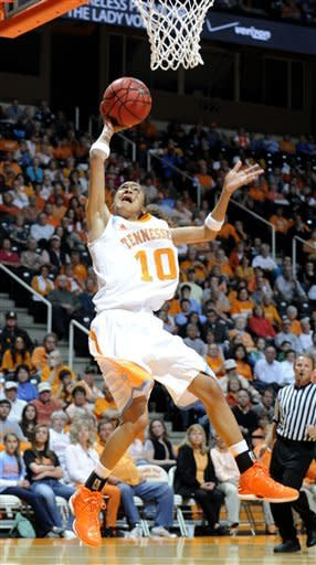 No. 16 Lady Vols rip No. 22 North Carolina 102-57