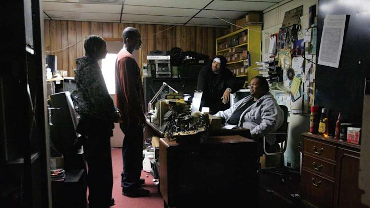 A scene from The Wire.