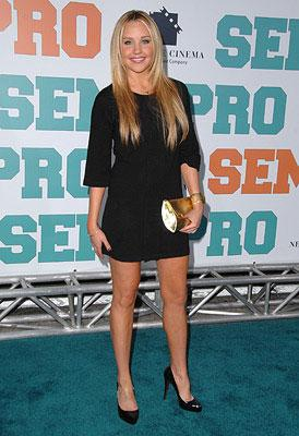 Amanda Bynes at the Los Angeles premiere of New Line Cinema's Semi-Pro