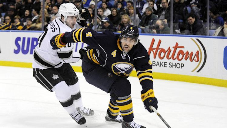Sabres beat Kings in SO for 1st home win