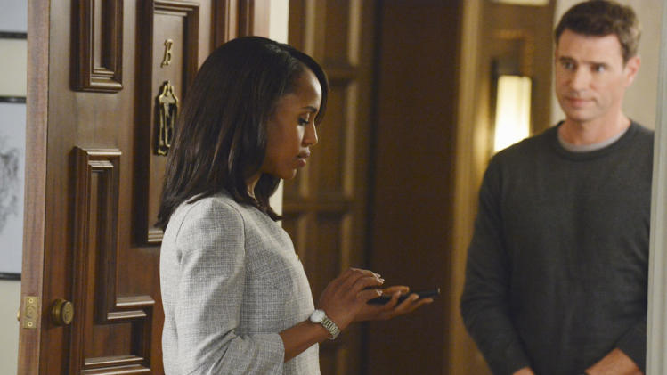 """Scandal"" -- ""A Woman Scorned"" KERRY WASHINGTON, SCOTT FOLEY"