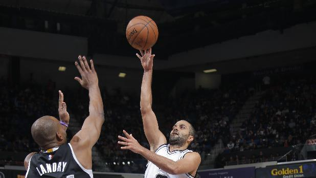 Spurs snap 4-game skid, beat short-handed Kings 107-96