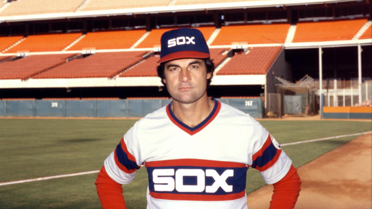 FILE - This Sept. 23, 1983 file photo shows Chicago White Sox manager Tony La Russa. La Russa retired as manager of the St. Louis Cardinals on Monday, Oct. 31, 2011,  three days after winning a dramatic, seven-game World Series against the Texas Rangers. (AP Photo/File)