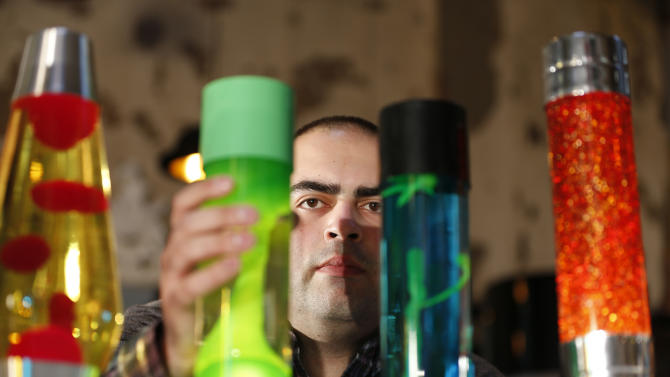Lava lamps: 50 years old and still groovy