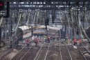 658668cd6d767617370f6a706700314c Crane to clear train tracks in deadly French crash