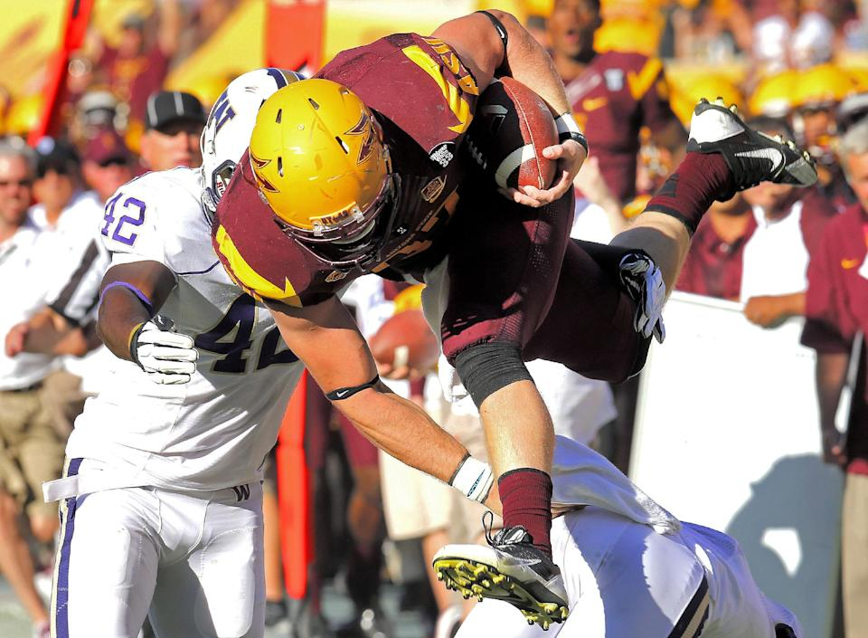 Sun Devils roll over No. 20 Huskies 53-24