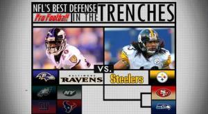 Best NFL defense: Ravens or Steelers?